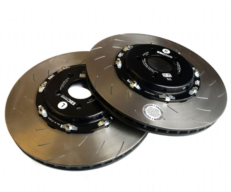 EBC 2  Piece Floating Brake Discs | Ford Focus RS MK3